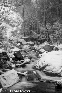 The Winter in the Adirondacks Tour provides plenty of opportunity for som expressive black and white images...among others.